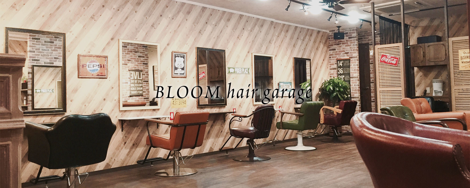 BLOOM hair garage